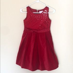 American girl red dress